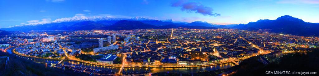 Grenoble capitale des Alpes - MINATEC