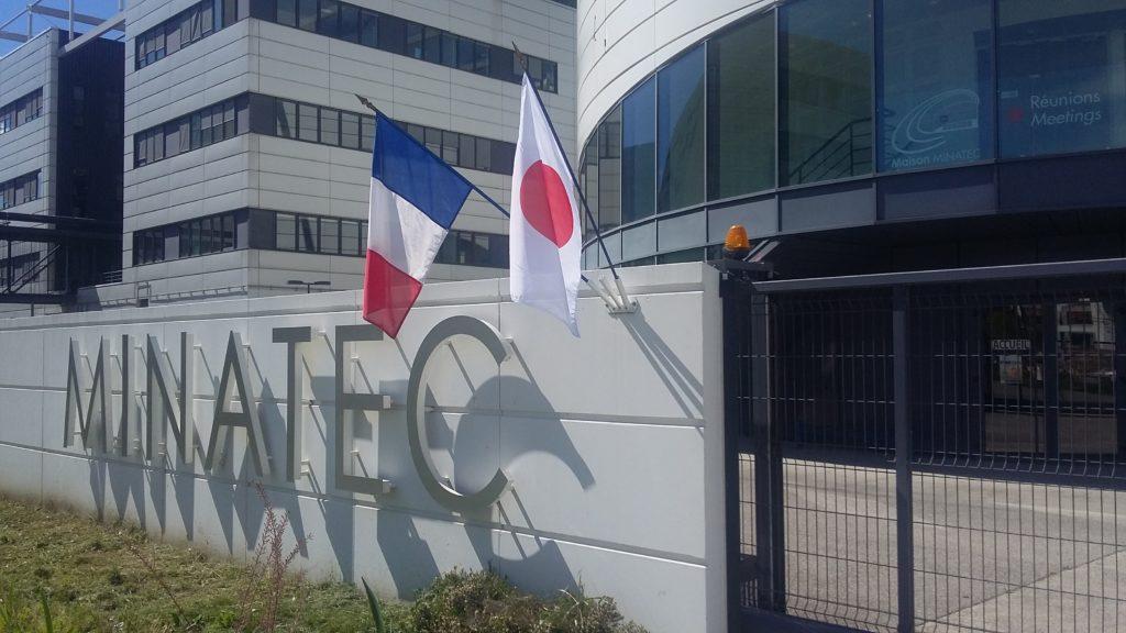 MINATEC Japon drapeau